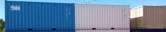 Onsite Shipping Container Storage