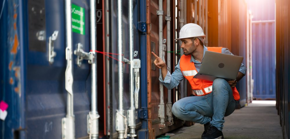shipping container inspection